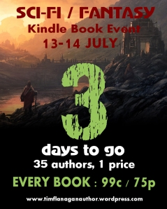 Science Fiction and Fantasy Kindle Event
